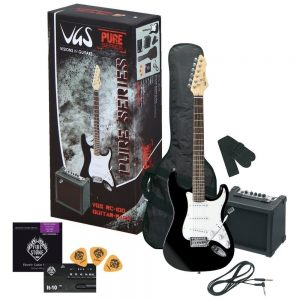 VGS E-Gitarre RC-100 Guitar Pack Black