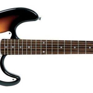 VGS E-Gitarre RC-100 3-Tone Sunburst