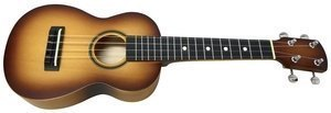 Sopran Ukulele Model 2 Brown Sunburst