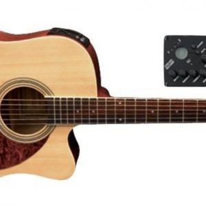 VGS E-Akustikgitarre D-10 CE Natur