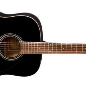 VGS Akustikgitarre D-10 Schwarz