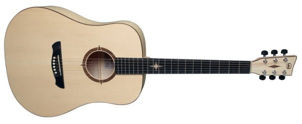 Akustikgitarre P-10 Polaris Natural Satin Open Pore