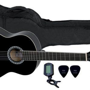 VGS E-Akustik Klassikgitarre Basic Set 3/4 walnussfarbig