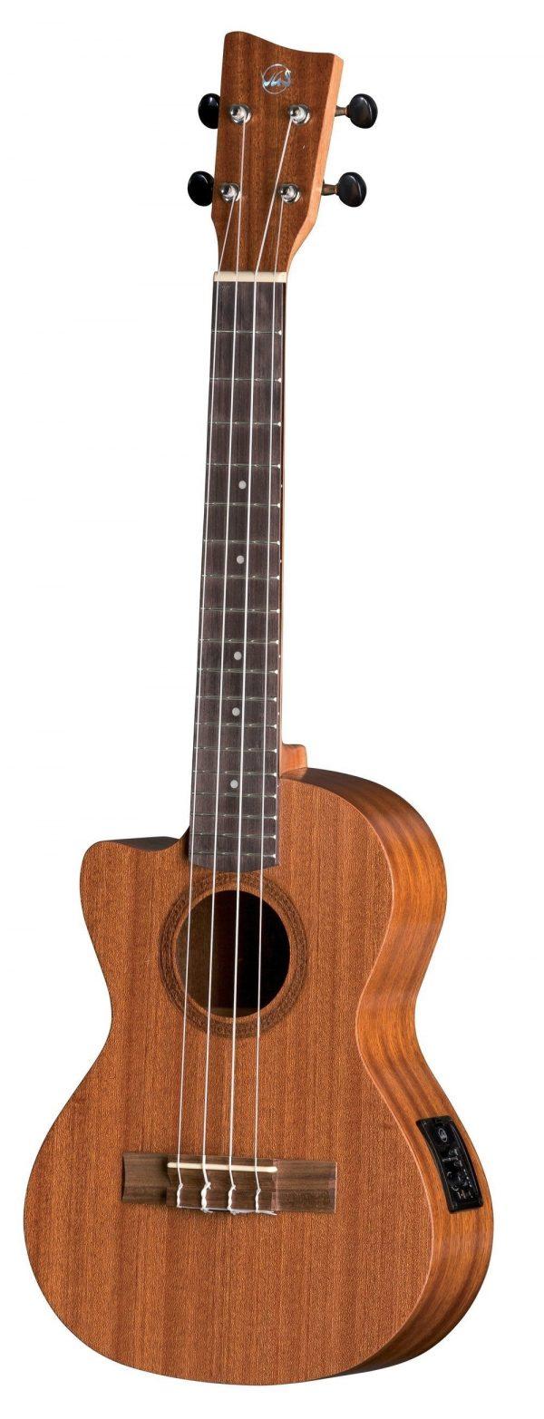 Tenor E-Akustik Ukulele Manoa K-TE-LH-CE E-A Tenor Lefthand