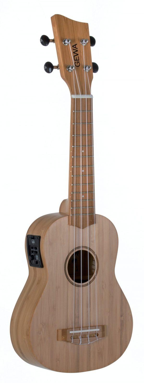 Sopran E-Akustik Ukulele Manoa K-SO-BBE Sopran