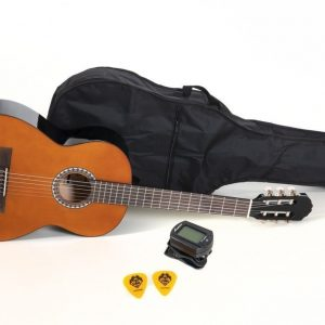 VGS E-Akustik Klassikgitarre Basic Set 4/4 walnussfarbig