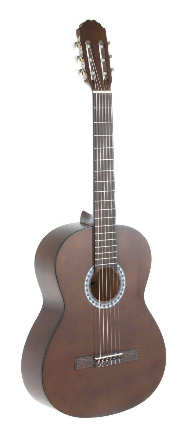 VGS E-Akustik Klassikgitarre Basic 4/4 walnussfarbig