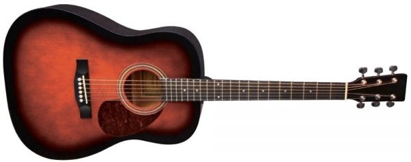 VGS Akustikgitarre D-10 Violinburst