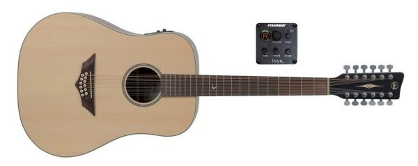 VGS Akustikgitarren E-Akustikgitarre RT-10-12 E Root Natural Satin